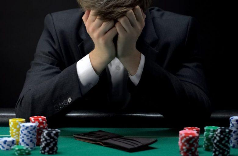Addicted to gambling